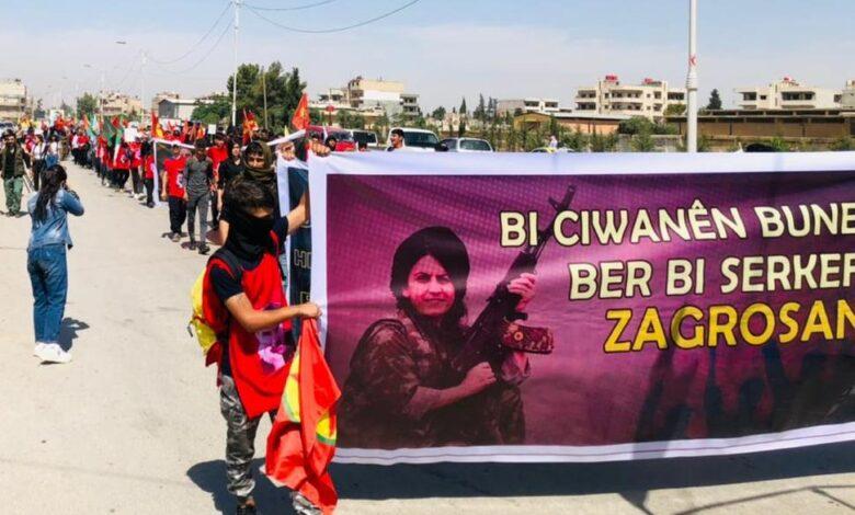 Photo of شبيبة الـ PYD: إرادتنا مستمدة من مقاومة صقور زاغروس