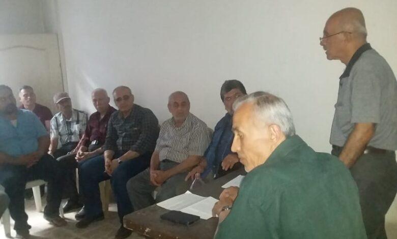 Photo of حلب – اجتماع للمكتب التنظيمي مع سكان حي الشيخ مقصود