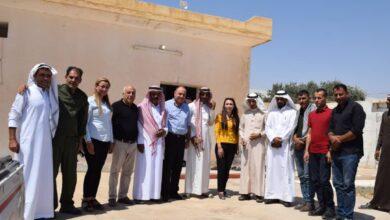 Photo of سلسلة زيارات لمكتب علاقات حزبنا في اقليم الفرات
