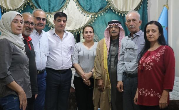 Photo of وفد من حزبنا يزور مكتب حزب الوفاق الديمقراطي
