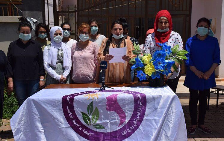 "Photo of وقفة المرأة الحرة في سوريا تعلن عن حملة ""فكرية وصحية"" على مستوى اقليم الجزيرة"