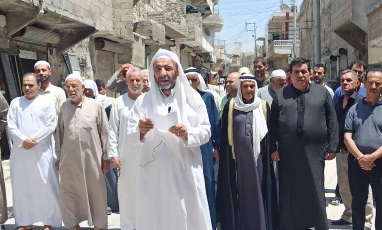 Photo of وجهاء حلب يدعون أبناء المنطقة لعدم الانجرار للفتن