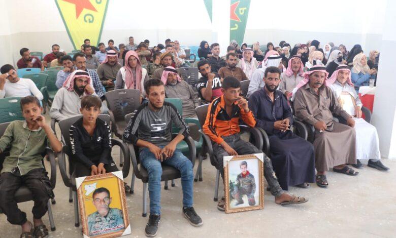 Photo of مؤسسة عوائل الشهداء تستذكر شهداء شهر حزيران في الشدادي