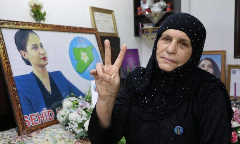 Photo of وكالة هاوار تكشف عن رسالة والدة الشهيدة هفرين خلف إلى والدة الشهيدة دنيز