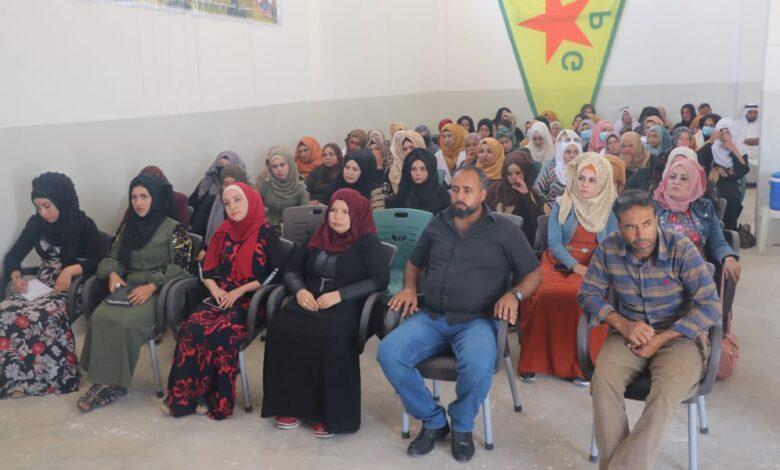 Photo of مؤتمر ستار في الشدادي يستذكر الشهيدة زيلان وشهداء حزيران