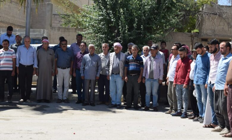 Photo of حزبنا يشارك في مراسيم عزاء شهداء بكوباني