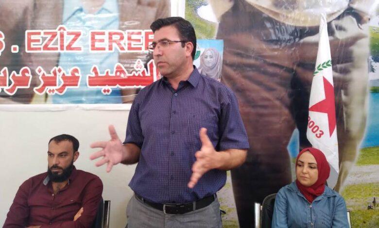 Photo of الـ PYD يستمر بعقد الاجتماعات الجماهيرية في محليات ونواحي إقليم الجزيرة