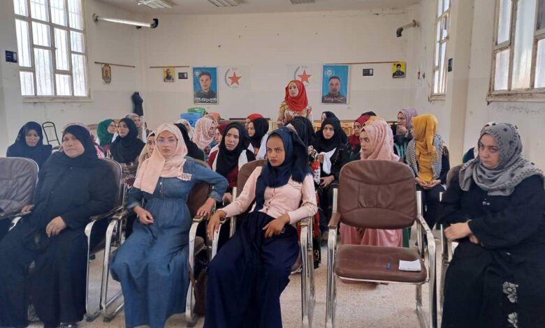 Photo of مجلس المرأة يعقد اجتماعاً لإداريات الحزب في ناحية الهول