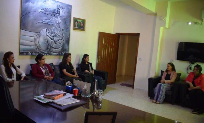 Photo of مجلس المرأة في الـ PYD يلتقي مع هيئة المرأة بإقليم الفرات