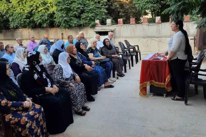 Photo of حزبنا يعقد سلسلة من الاجتماعات التنظيمية في إقليم الجزيرة