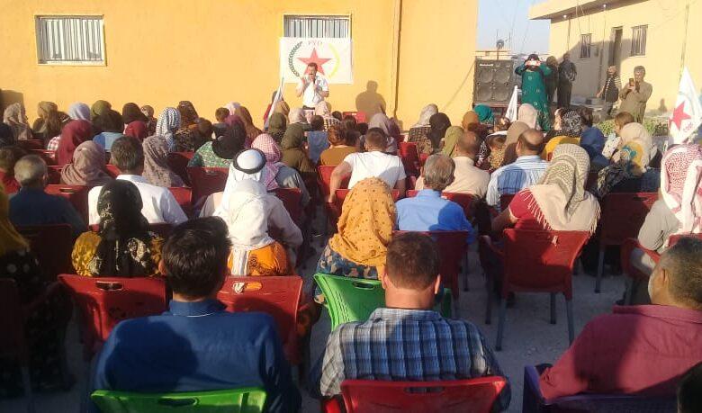 Photo of حزبنا مستمرٌ بعقد الاجتماعات الجماهيرية في الحسكة