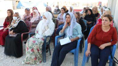 Photo of مجلس المرأة في الـ PYD يعقد اجتماعاً لنساء مخيم سري كانيه