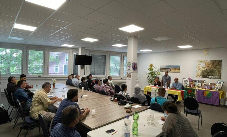 Photo of حزب الاتحاد الديمقراطي PYD في ألمانيا في اجتماعات مكثفة