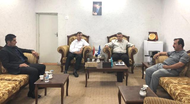 """Photo of حزبنا و"""" السوسياليست الكردستاني"""" يؤكدان على أن الحوار هو السبيل لحل الخلافات الكردستانية"""