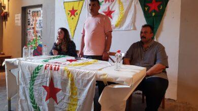 Photo of بحملة الاجتماعات في أوروبا، PYD يعقد اجتماعاً موسعاً في هامبورغ الألمانية