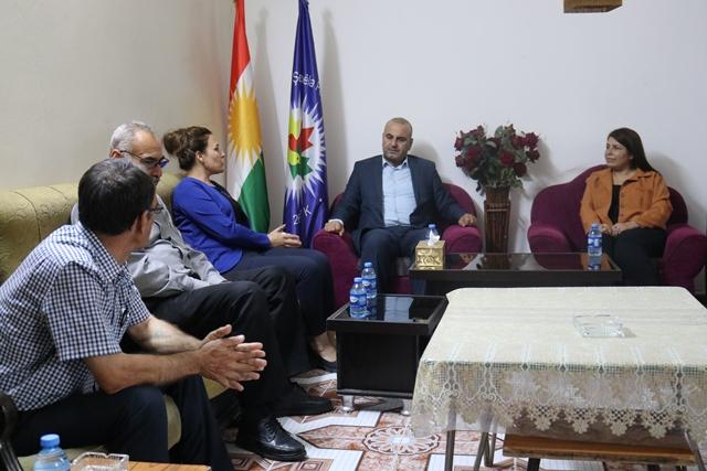 Photo of وفد من حزبنا يزور مكتب تيار المستقبل الكردستاني