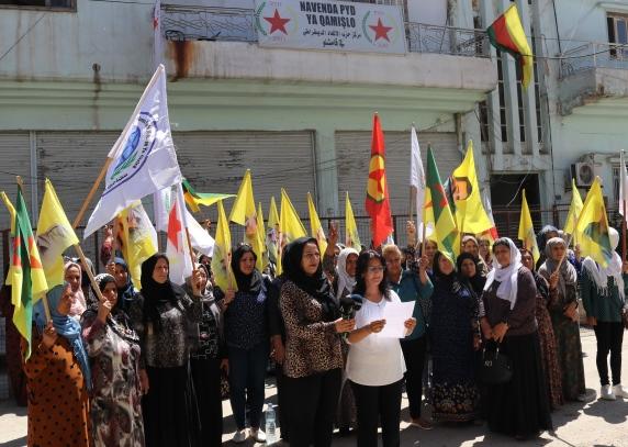 Photo of تنظيم المرأة في قامشلو يصدر بياناً إلى الرأي العام