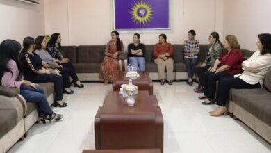 Photo of وفد من مجلس المرأة في الـ PYD يزور مركز مجلس المرأة لشمال وشرق سوريا