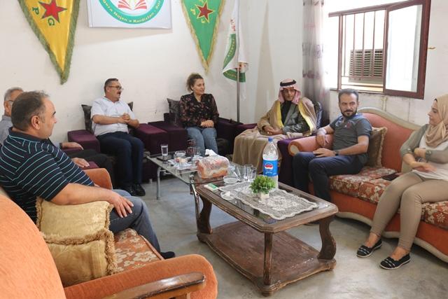 Photo of وفد من حزبنا يزور مكتب حركة التجديد الكُردستاني في قامشلو