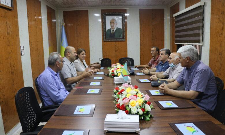 Photo of وفد من حزبنا يزور مكتب الحزب الديمقراطي التقدمي الكردي في سوريا