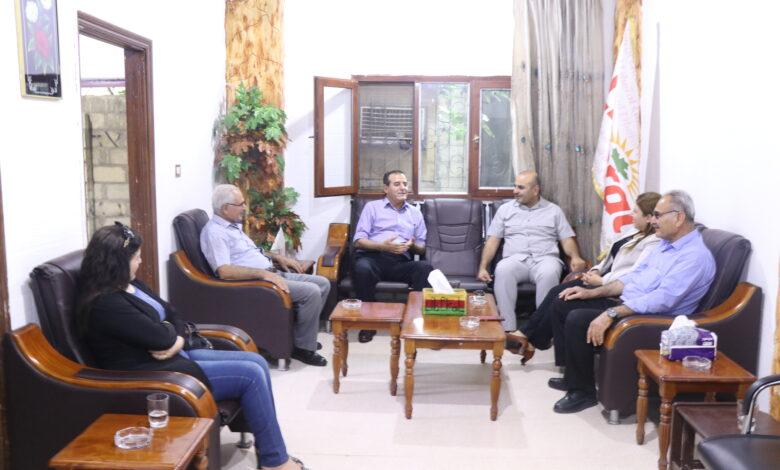 Photo of وفد من حزبنا يزور مكتب الاتحاد الليبرالي الكوردستاني