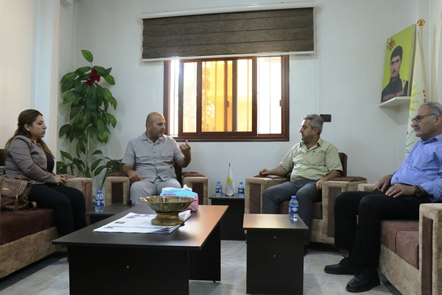 Photo of وفد من حزبنا يزور مكتب حزب السلام الديمقراطي الكُردستاني