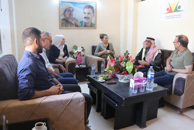 Photo of وفد من حزبنا يزور مكتب حزب النضال الديمقراطي في قامشلو