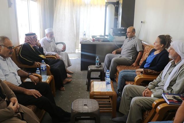 Photo of وفد من حزبنا يزور مكتب مؤتمر المجتمع الإسلامي الديمقراطي