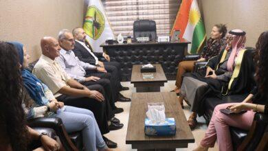 Photo of وفد من حزبنا يزور مكتب حزب الديمقراطي الكردستاني – غرب كردستان