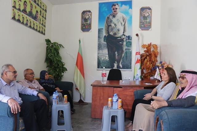 Photo of وفد من حزبنا يزور مكتب حزب التجمع الوطني الكُردستاني