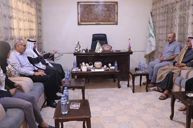 Photo of وفد من حزبنا يزور مكتب الهيئة الوطنية العربية في قامشلو