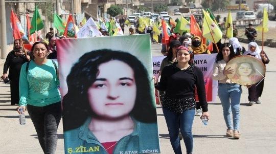 Photo of مسيرة شعبية في ديرك تنديداً بالاحتلال التركي