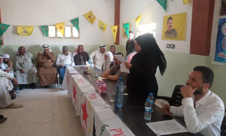Photo of اجتماع موسع لأعضاء الحزب في ناحية العريشة