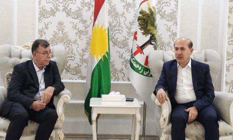 Photo of الاتحاد الديمقراطي وكادحي كردستان يؤكدون على ضرورة توحيد  الصفوف