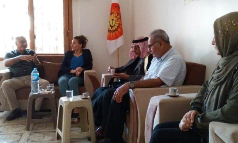 Photo of وفد من حزبنا يزور مكتب اتحاد الشغيلة الكُردستاني
