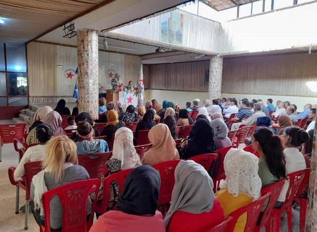 Photo of الـ PYD يعقد سلسلة من الاجتماعات الجماهيرية في إقليم الجزيرة