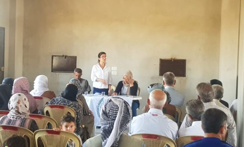 Photo of سلسلة من الاجتماعات التنظيمية يعقدها حزبنا في إقليم الجزيرة