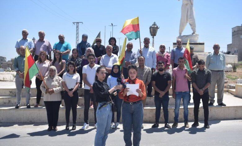 Photo of مؤسسات المجتمع المدني تطالب مجلس الأمن الدولي بالوقوف بوجه اعتداءات الدولة التركية