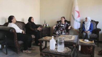 Photo of حلب – وفد من مكتب المرأة في مجلس سوريا الديمقراطية في زيارة لمكتب حزبنا