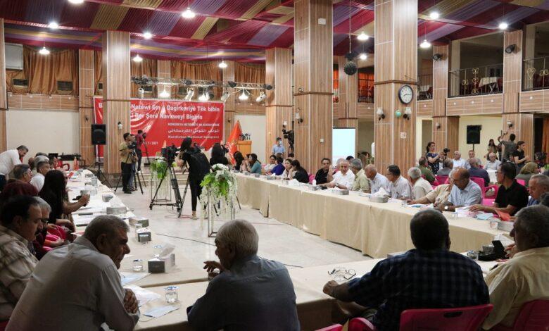 "Photo of قامشلو ..انطلاق فعاليات منتدى ""KNK-ROJAVA"" الحواري حول مخاطر الاحتلال التركي"