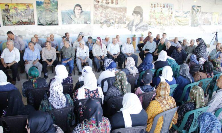 Photo of اجتماع موسع لحزبنا في حلب