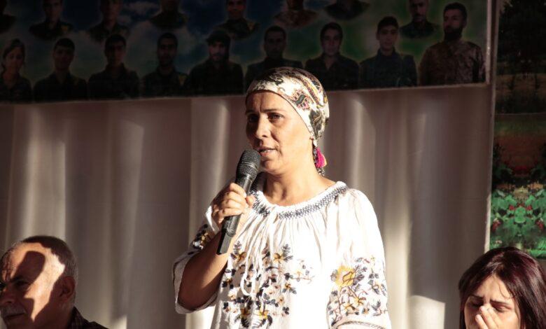 Photo of عائشة حسو تدين صمت منظمات حقوق الإنسان حيال انتهاكات تركيا في المناطق المحتلة