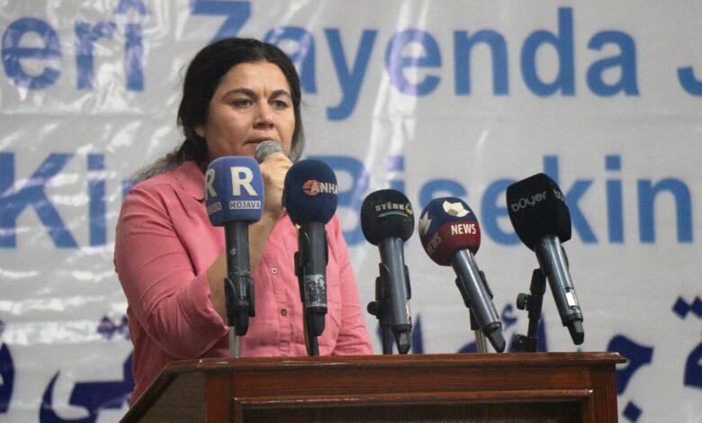 Photo of فوزة يوسف: لن نستطيع بناء مجتمع حر وديمقراطي دون إعطاء المرأة حقوقها
