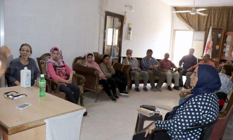 Photo of لجنة التدريب في حزبنا تنظم محاضرة في حلب