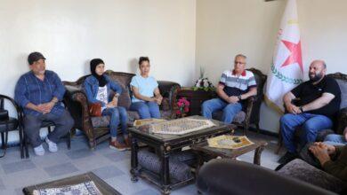 Photo of وفد من حزب التحالف الوطني الديمقراطي السوري يزور مكتب الـ PYD بحلب