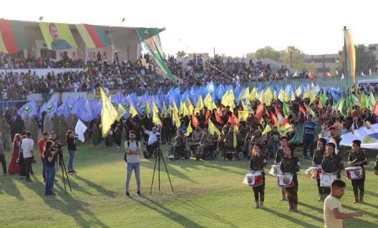 Photo of أهالي قامشلو يحتفلون بذكرى ثورة ١٩ تموز