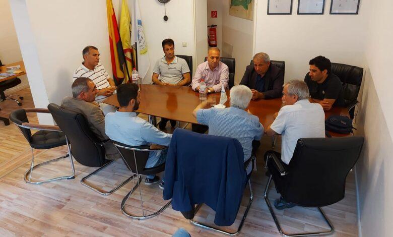 Photo of بدران جيا كرد يلتقي بممثلي الأحزاب الكردستانية والشخصيات الوطنية في ألمانيا