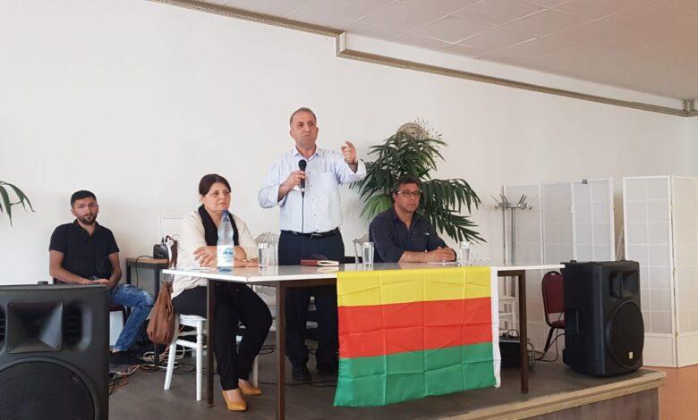 Photo of بحملة الاجتماعات في أوروبا، PYD يعقد اجتماعاً جماهيرياً في بريمن الألمانية