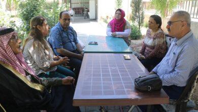 Photo of وفد من حزبنا يزور مكتب اتحاد المُثقفين في إقليم الجزيرة