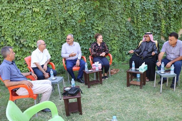Photo of وفد من حزبنا يزور حزب الوحدة الديمقراطي في سوريا – يكيتي-